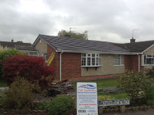 Roof replacement in Oldham, Lancashire.